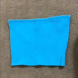 Urban Outfitter Blue Tube Top
